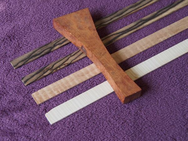 またまた銘木材料を入手してしまったのでした