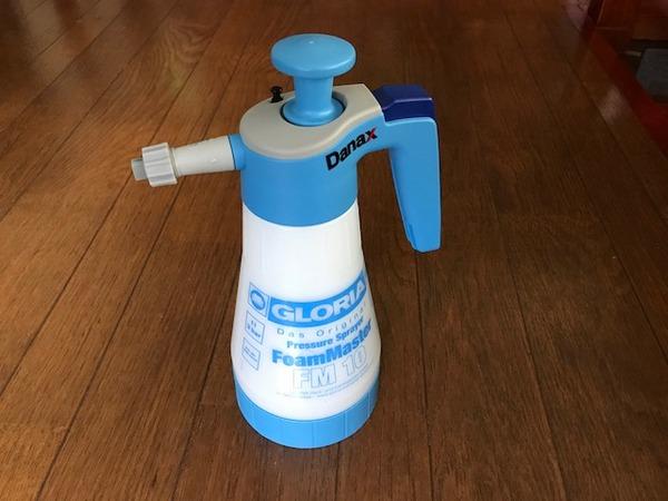 蓄圧式泡洗浄器