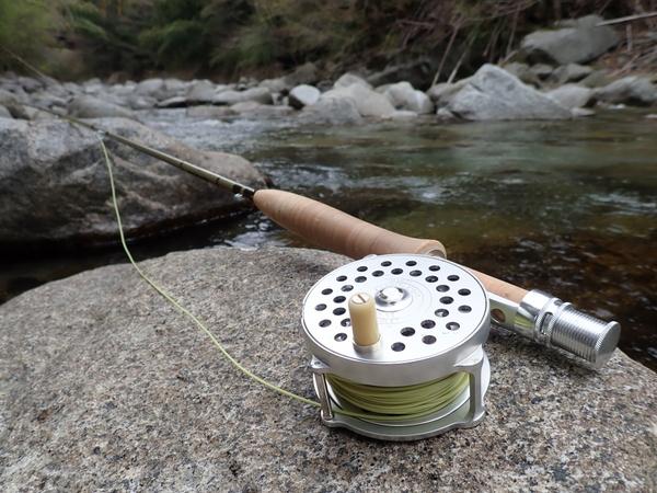 一泊三渓の釣り